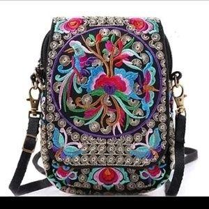 Handbags - Lady ethnic style shoulder bag